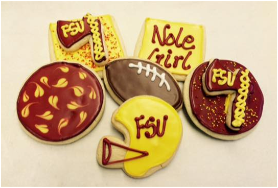 College Gameday Cookies